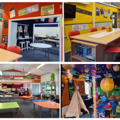 Modernised Learning Spaces!